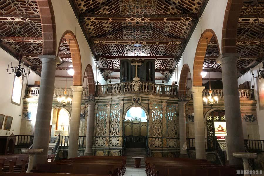 Qué ver en Santa Cruz de La Palma, iglesia de El Salvador