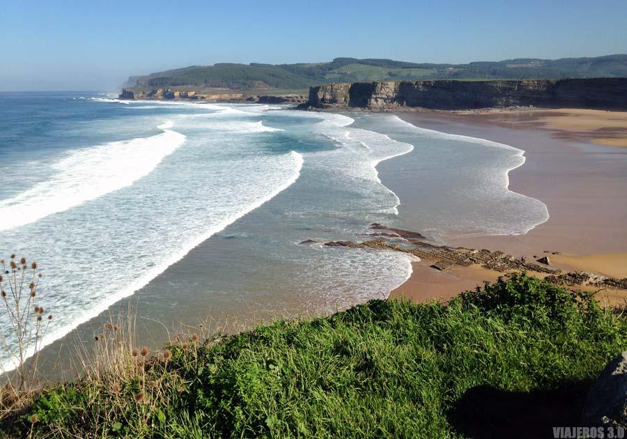 Playa de Langre, cerca de Santander