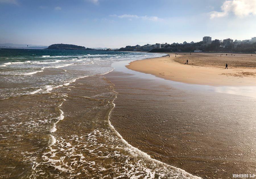 Las mejores playas de Santander, El Sardinero.