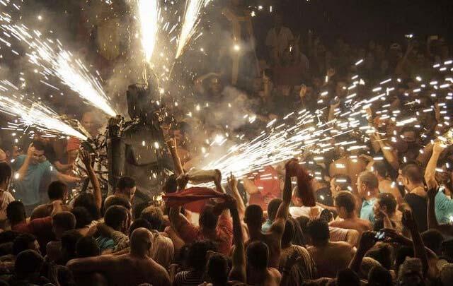 Danza del Diablo en Tijarafe.