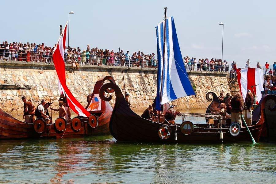 Festa Normanda en Foz, las mejores fiestas de pueblo de España