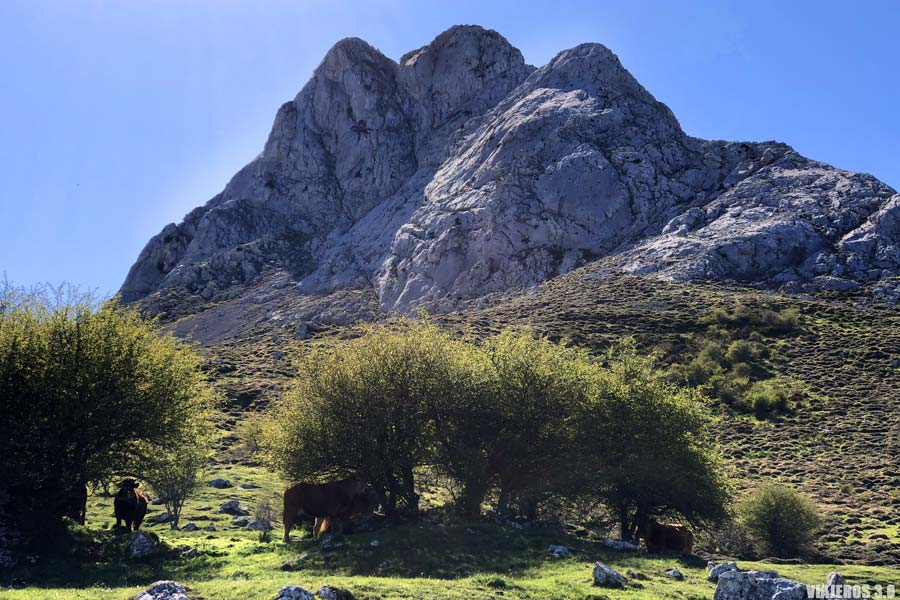 Ruta al pico Gilbo.