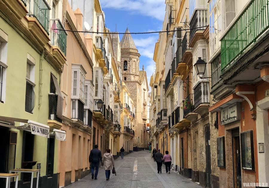 Barrio de la Viña en Cádiz