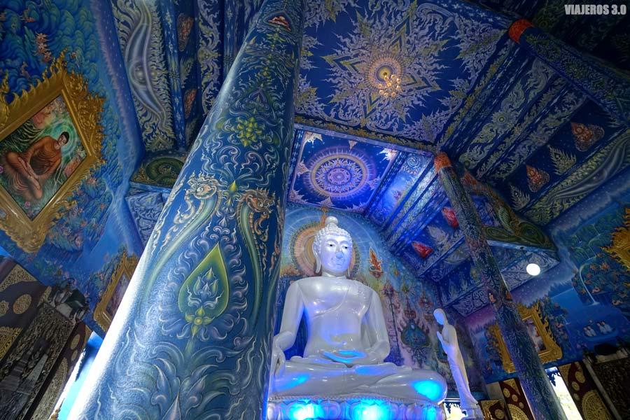 Templo azul de Chiang Rai.