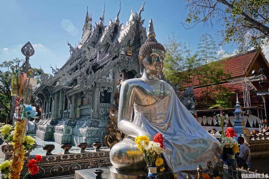 Templo de plata en Chiang Mai.