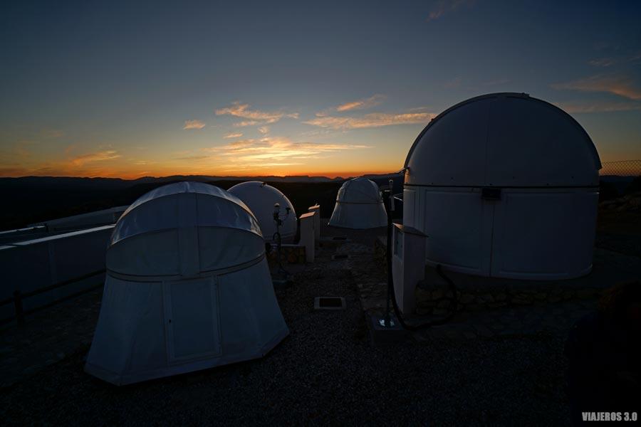 Astrocamp en Nerpio, observación de estrellas, astroturismo