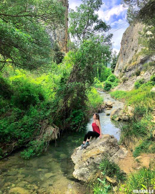 Ruta del Zarzalar en Nerpio