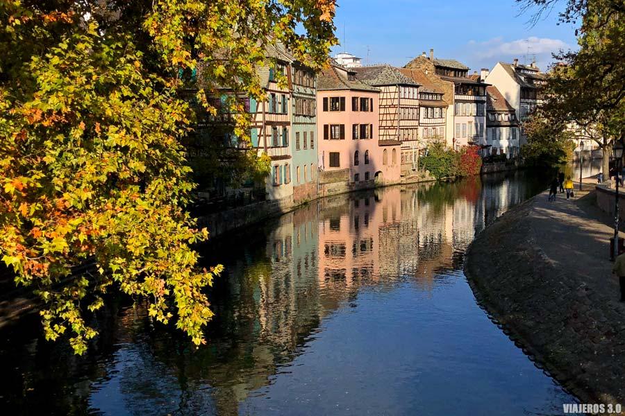 Centro histórico de Estrasburgo, en Francia