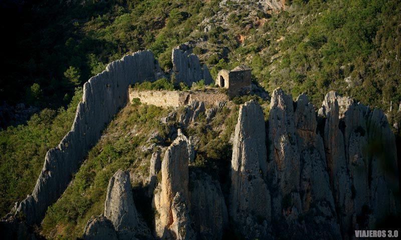 La ermita de San Vicente en Finestres (Huesca)