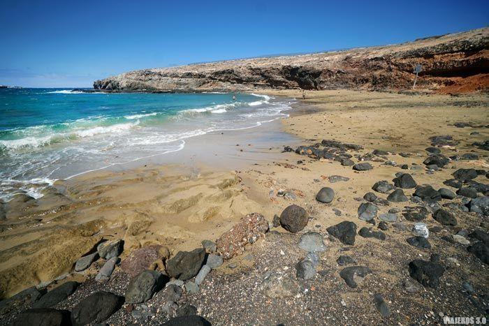 Playa de Aguadulce en Gran Canaria