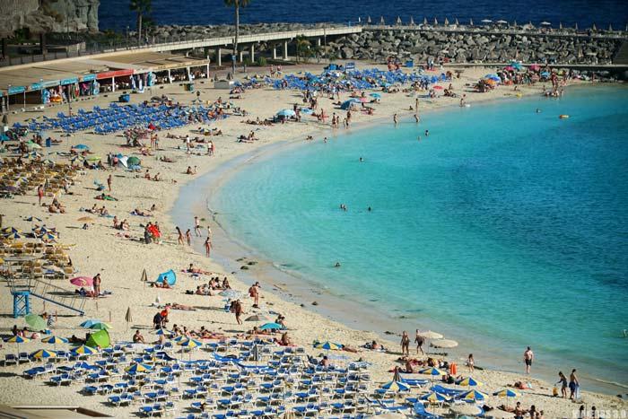 Una de las playas más bonitas de Gran Canaria: playa de Amadores