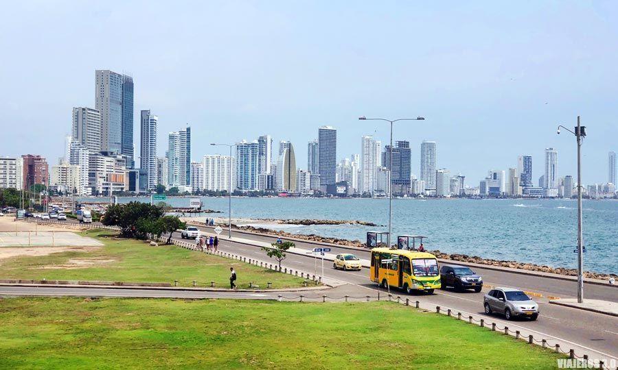 Transporte en Cartagena de Indias.