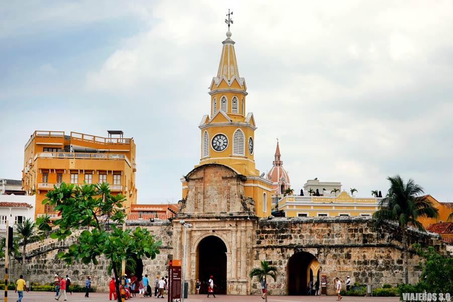Murallas de Cartagena de Indias.