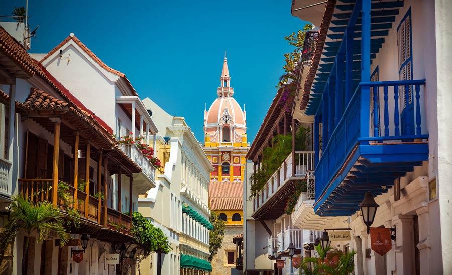 Catedral de Cartagena de Indias.