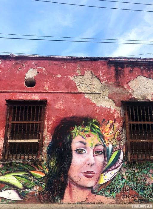 Street Art en Getsemaní.