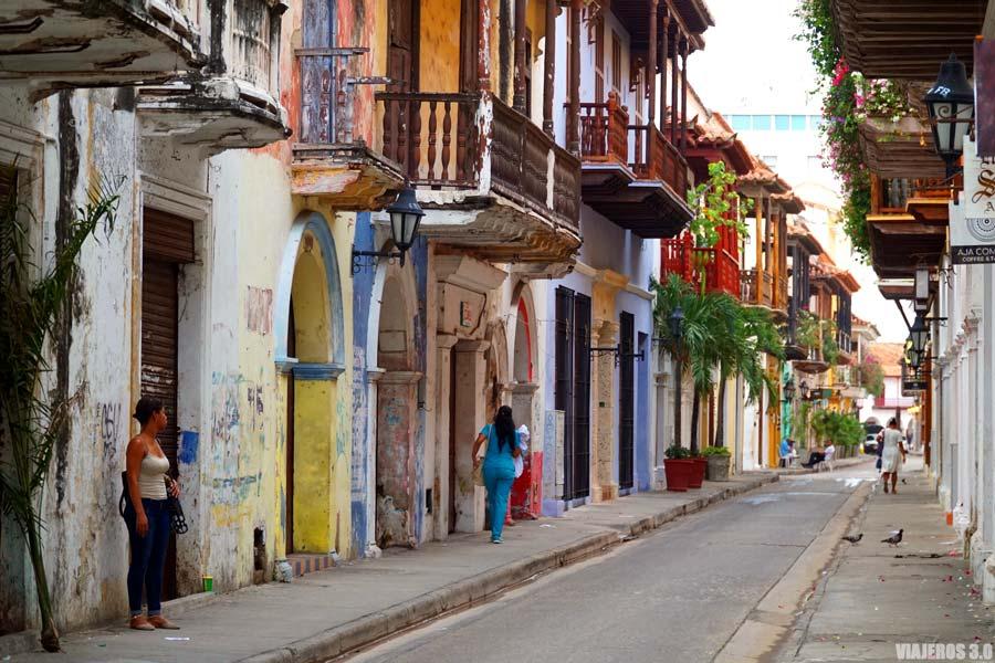 Casco histórico de Cartagena de Indias.