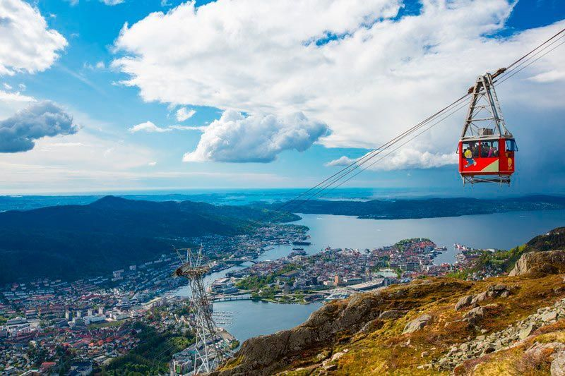 Teleférico de Ulriken, Bergen en dos días