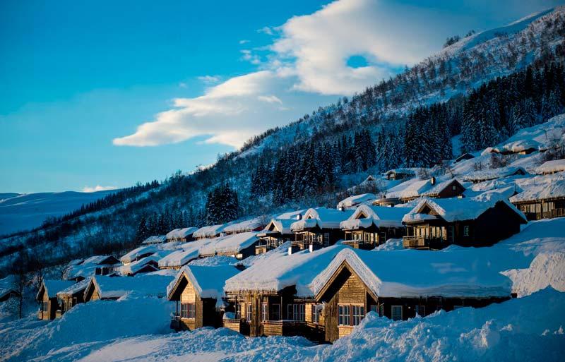 Dónde esquiar en Noruega, estación de Myrkdalen