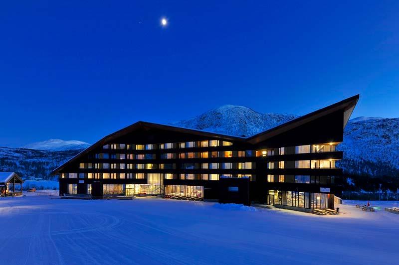 Resort de Myrkdalen en Noruega