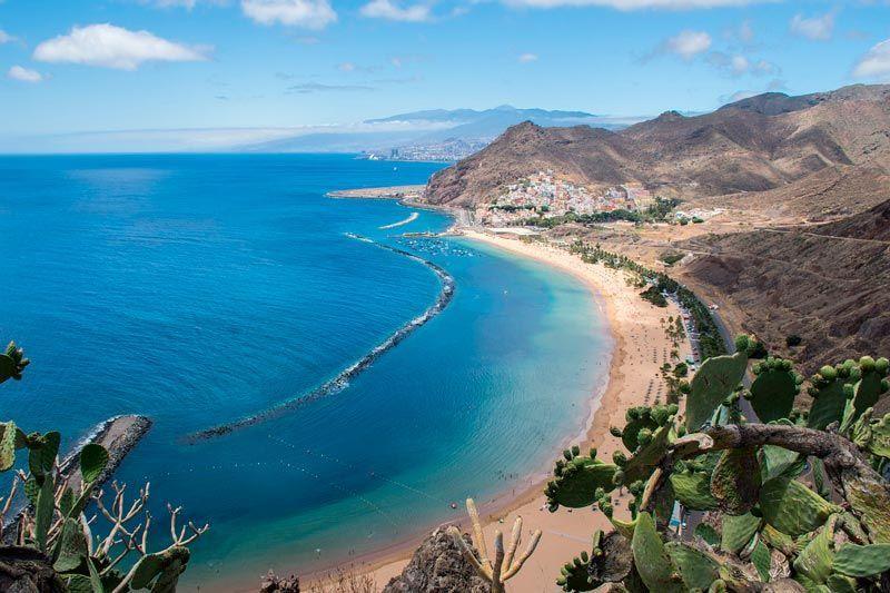 playa de las Teresitas, playas de Tenerife