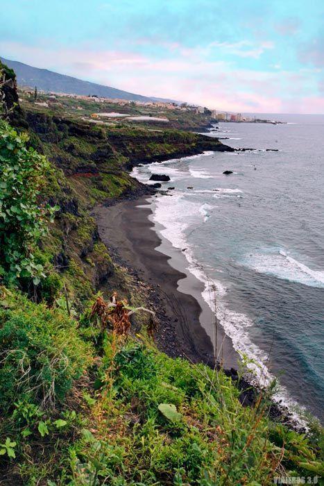 Playa de los Patos en Tenerife