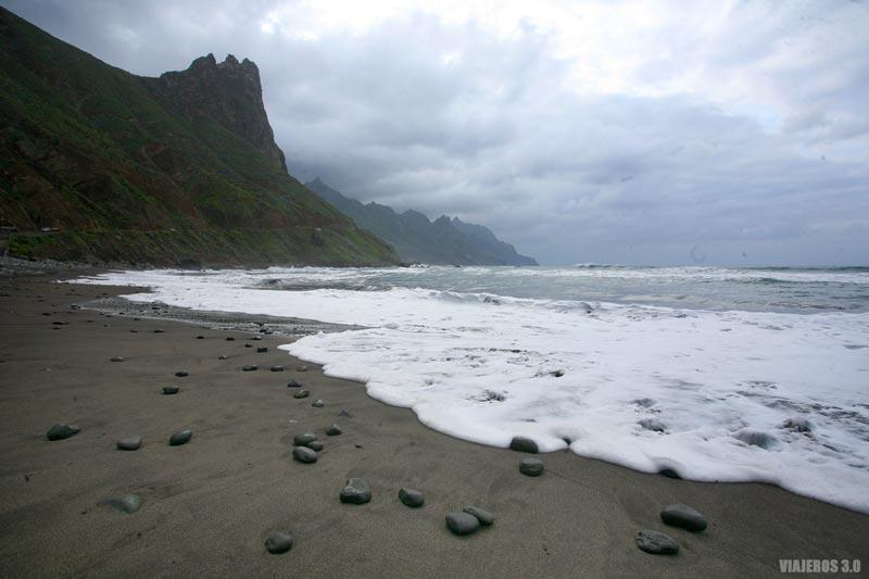 Playa de las Bodegas en Tenerife