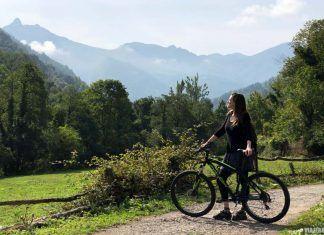Senda del Oso en bici en Asturias