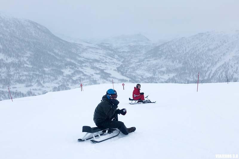 Trineo y esquí en Noruega