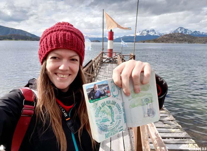 pasaporte y documentación para viajar a Argentina