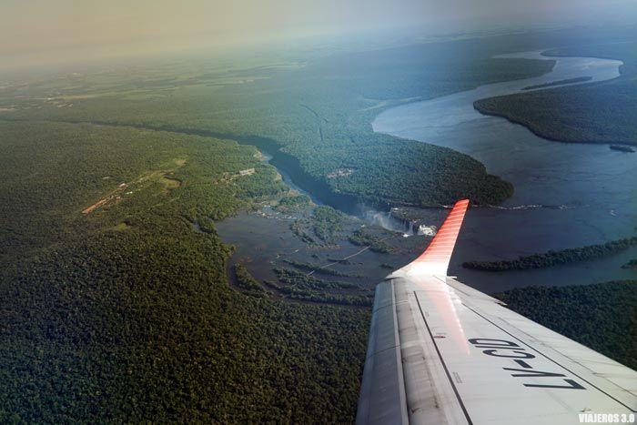 sobrevolando Iguazú