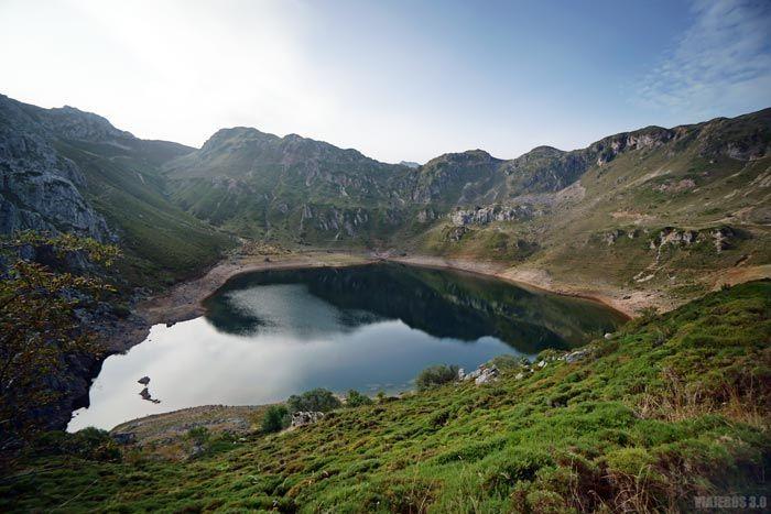Lago de la Cueva, ruta circular lagos de Saliencia