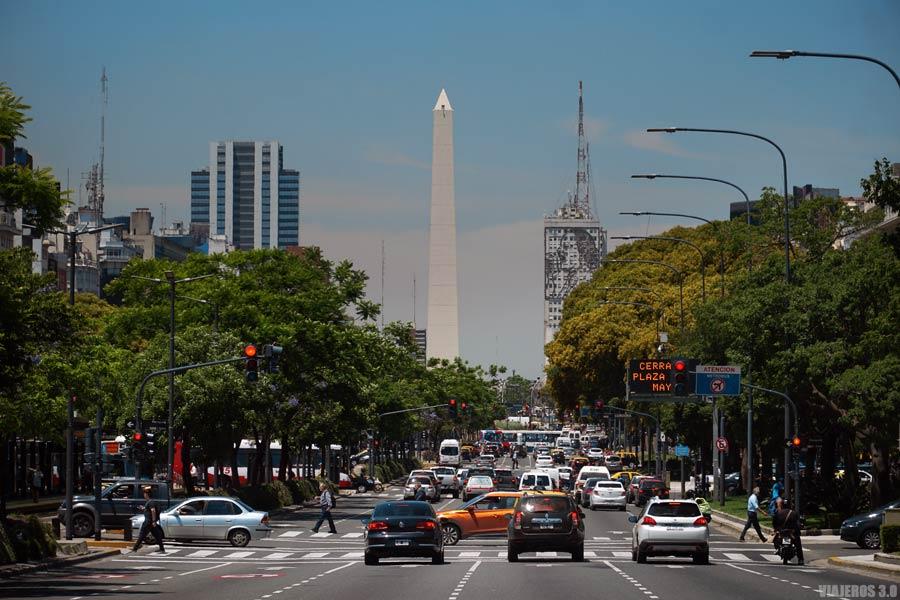 Obelisco de Buenos Aires.