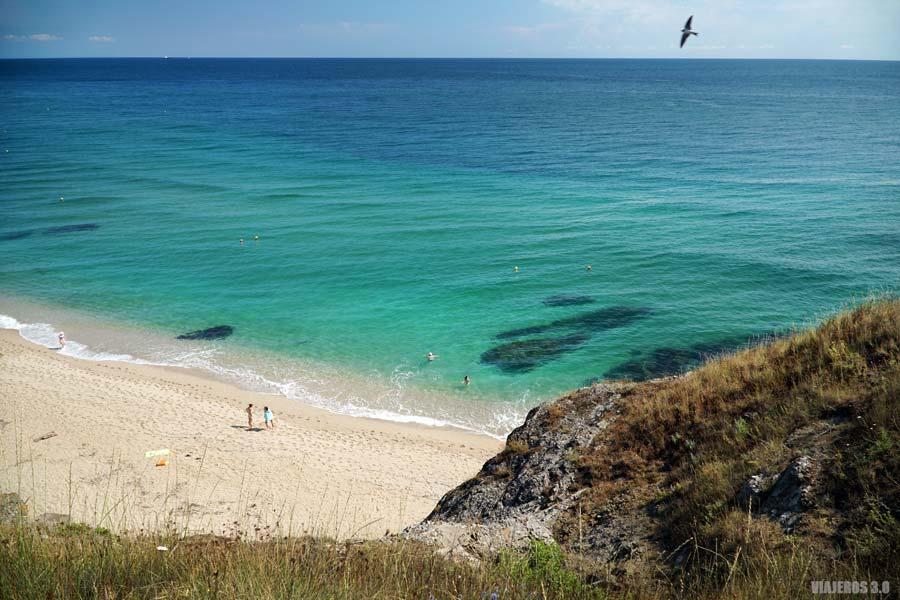 Aguas cristalinas en las playas de Bulgaria