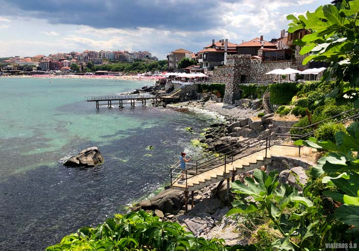 Sozopol, en la costa del Mar Negro