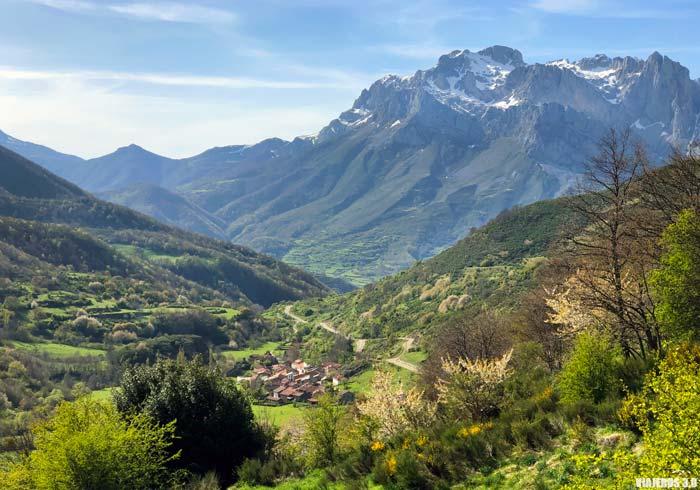 Vista panorámica del Valle de Valdeón.