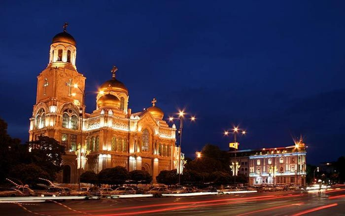 Catedral de Varna en Bulgaria