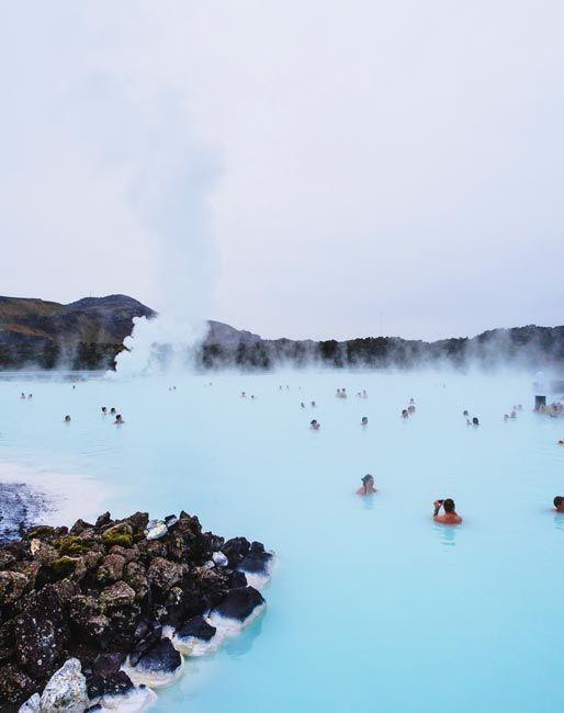 Blue Lagoon, aguas termales en Islandia