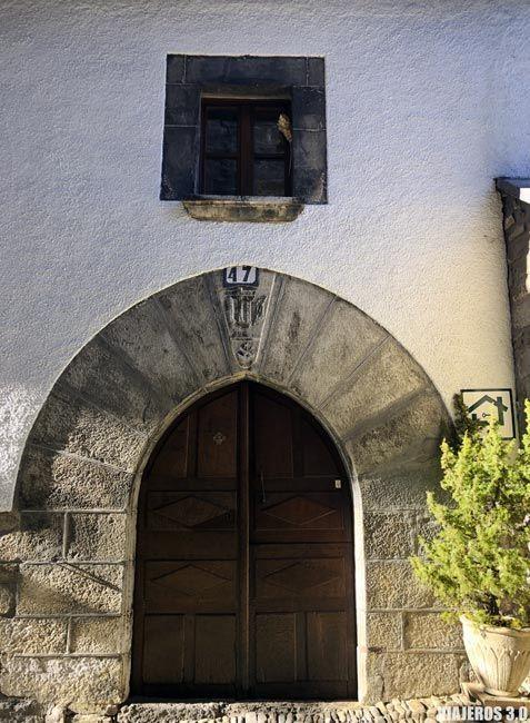Palacios y casonas, qué ver en Ochagavía, Navarra.