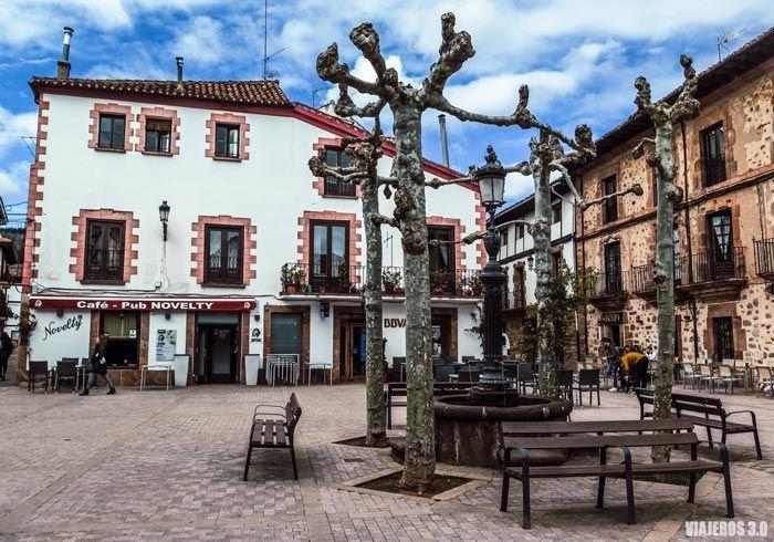 Plaza del Quiosco en Ezcaray