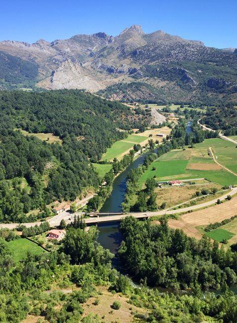Ruta de los Miradores de Sabero, Montaña de Riaño en el norte de León