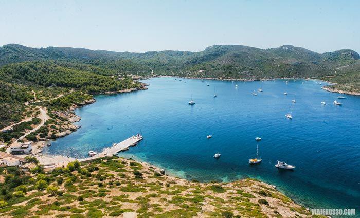 Isla de Cabrera, ruta por Mallorca
