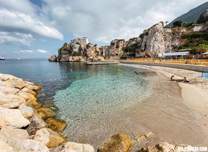 Camp Bay, playas que ver en Gibraltar