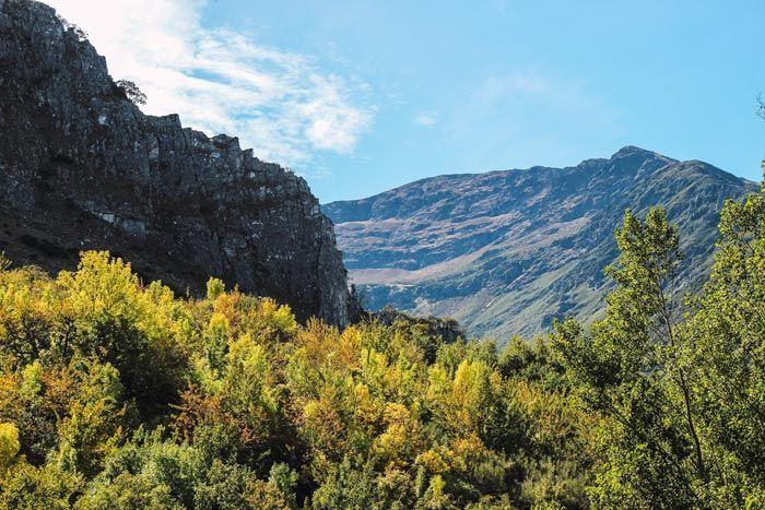 Paisajes que ver en el Valle del Silencio, Montes Aquilanos.
