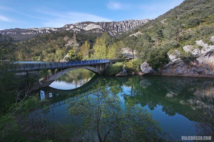 embalse de Cereceda, Valle de Valdivielso, Ebro Escondido.