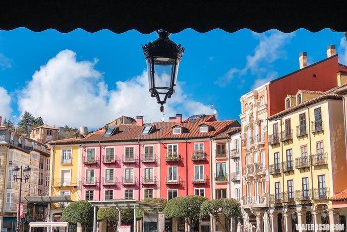 Plaza Mayor en Burgos.