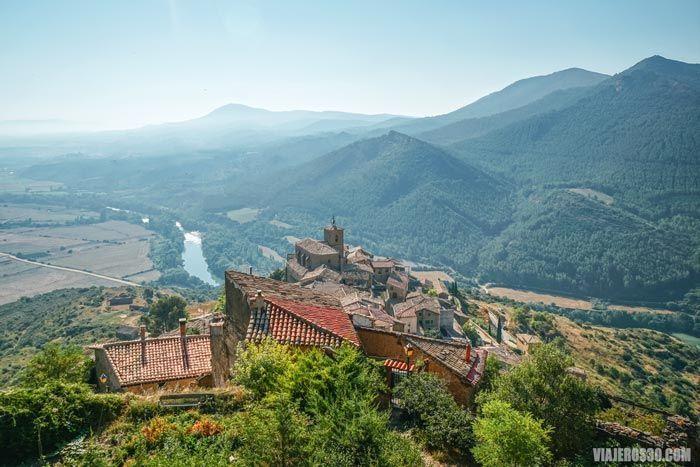 Gallipienzo, uno de los pueblos más bonitos de Navarra.