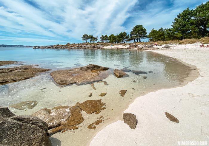 Playas de la isla de Arousa, qué ver en las Rías Baixas.