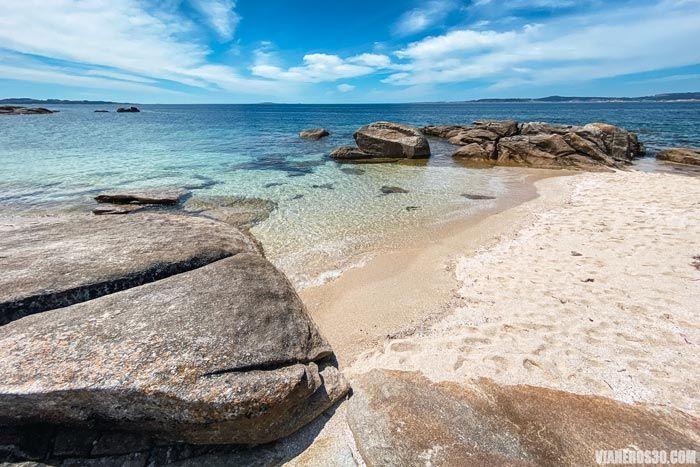 Playas de la isla de Arousa, mejores playas de Galicia