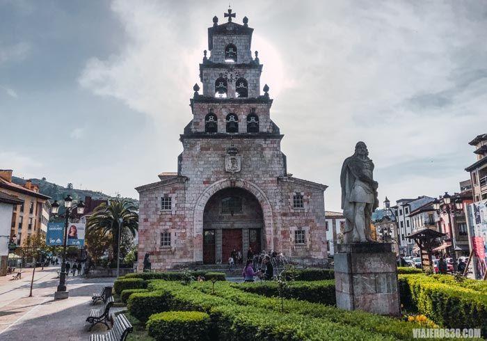 Iglesia de la Asunción en Cangas de Onís