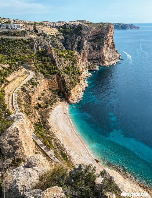 Cala del Moraig en Alicante